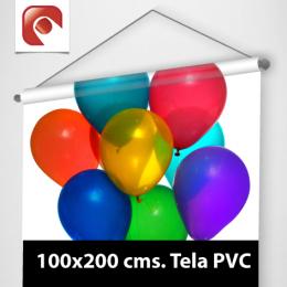 Pendon 100x200 cms. Tela PVC