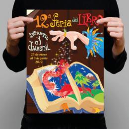 Afiches 30x45 cms. Couche 170 grs, Corte Recto